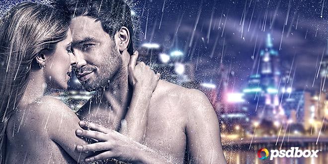 Rain & Water Effects in Photoshop