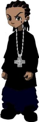 12 PSD Gangster Boondocks Images