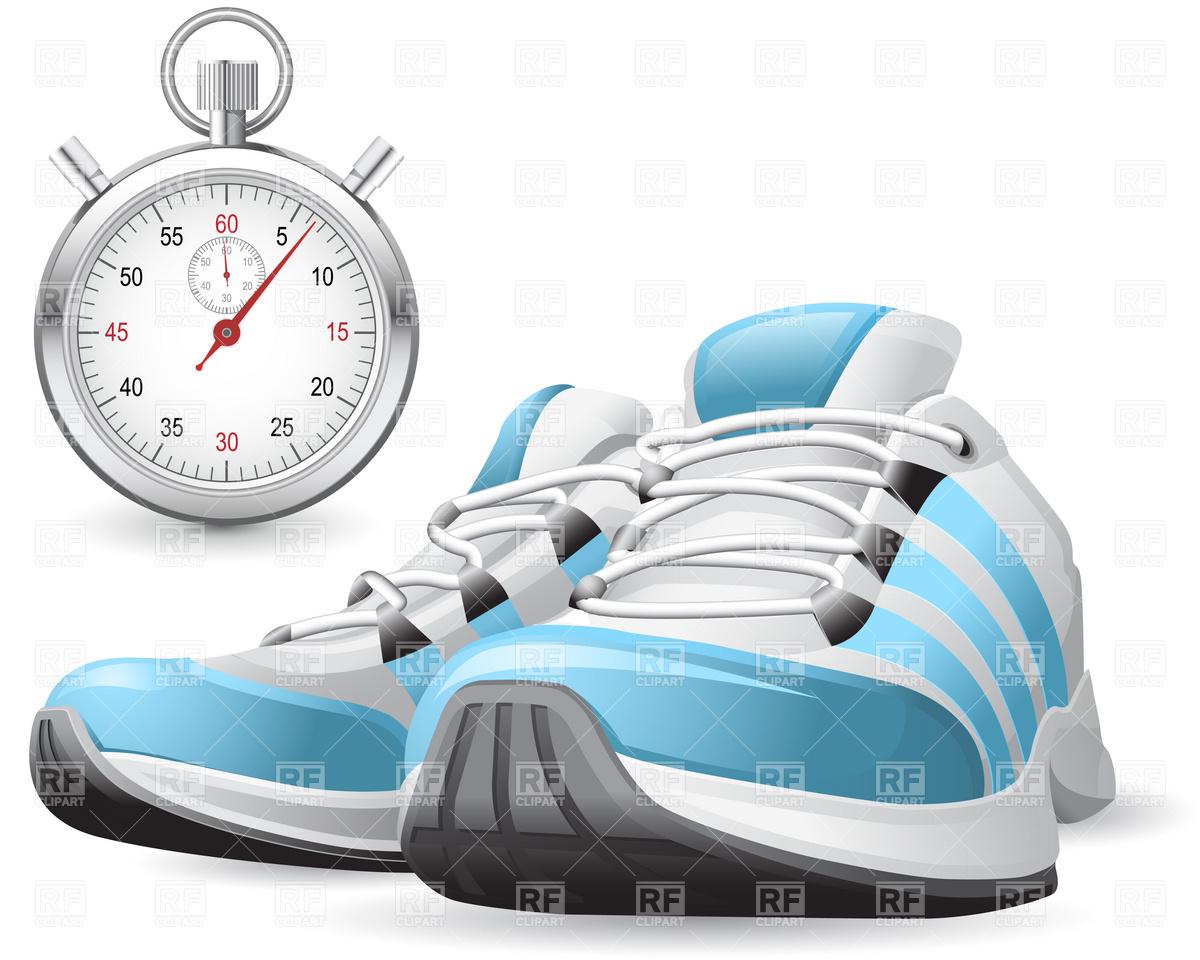 Running Shoes Clip Art