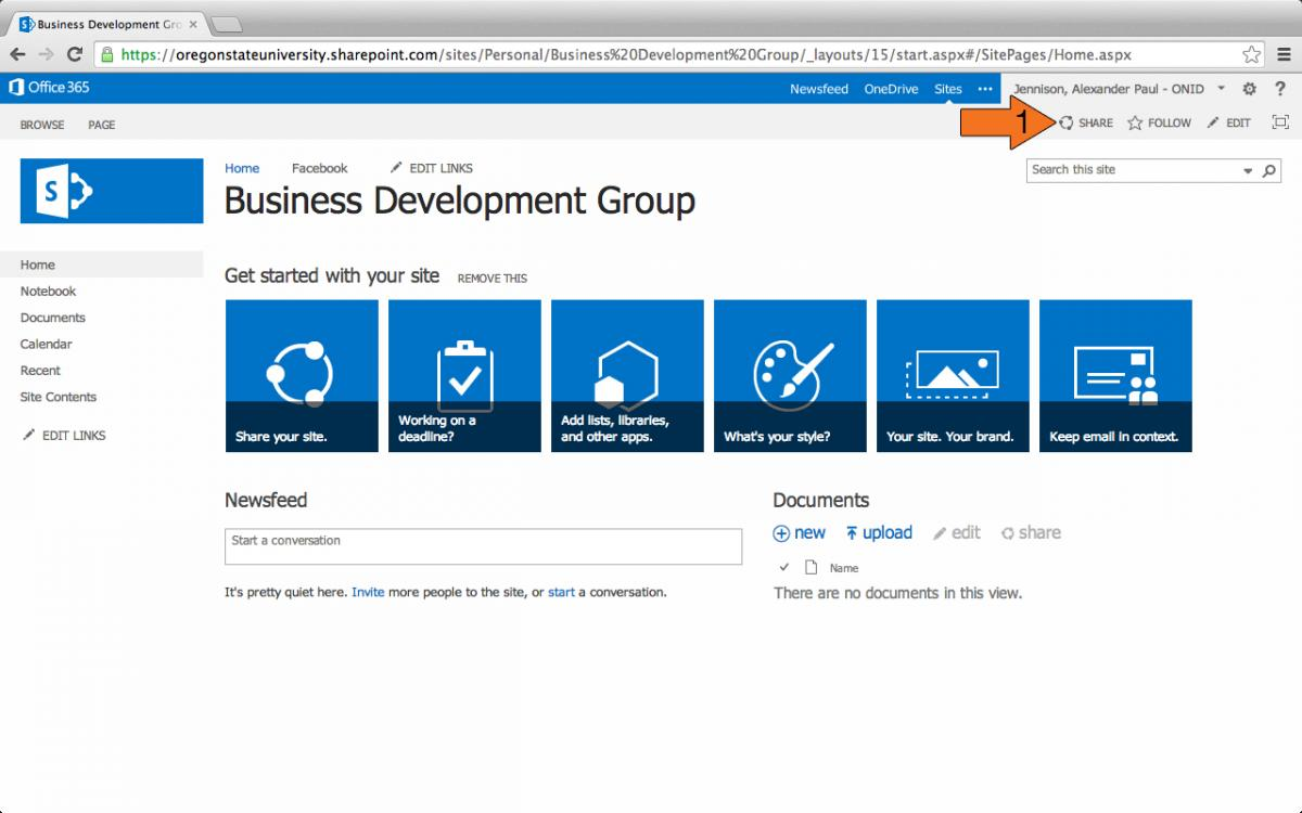 SharePoint 2013 Sites