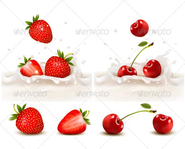 Strawberry Cherry Fruit