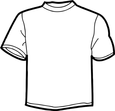 T-Shirt Drawing Template