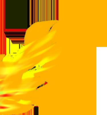 Transparent Fire Flames