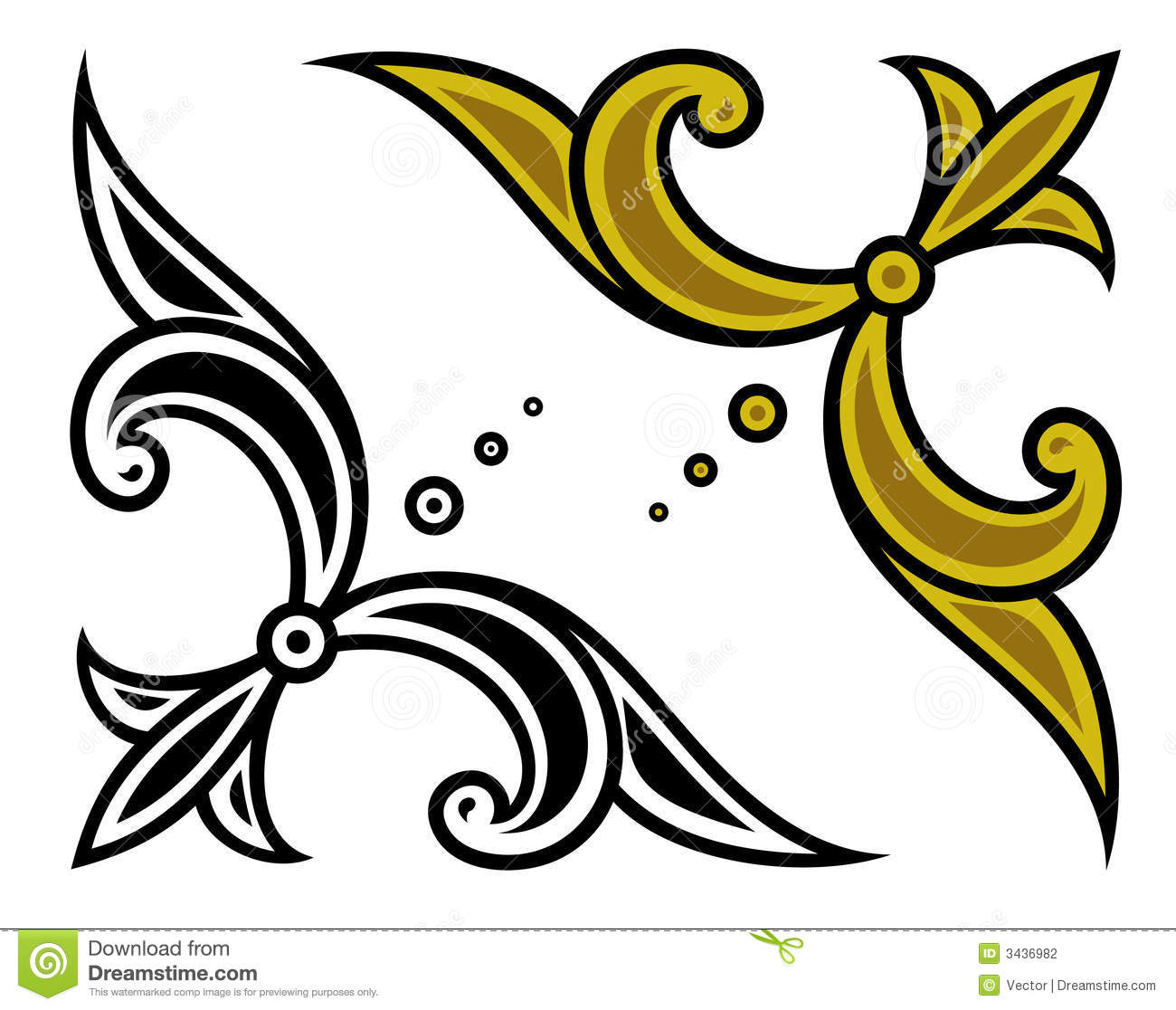 15 Corner Ornament Vector Png Images - Free Vector Corner ...