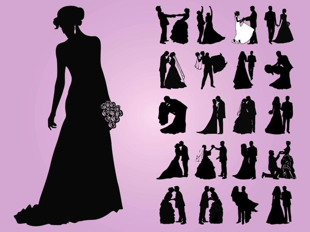 20 Wedding Vector Designs Images - Free Vector Wedding ...