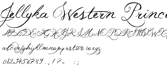 Western Calligraphy Fonts