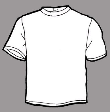 White T-Shirt Template PSD
