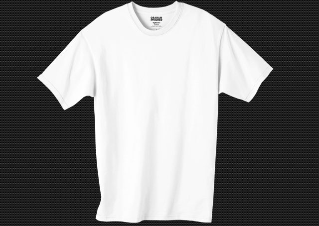 White T-Shirt Template