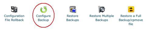 12 Backup Configuration Icon Images