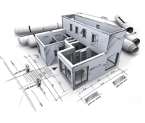 3D Architectural CAD Drawings