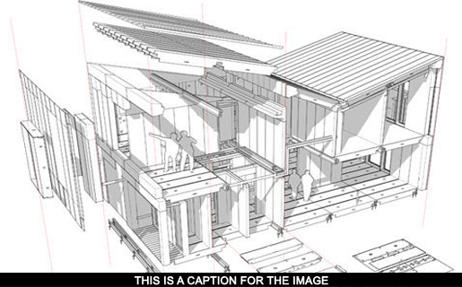 3D Architectural Design Drawings