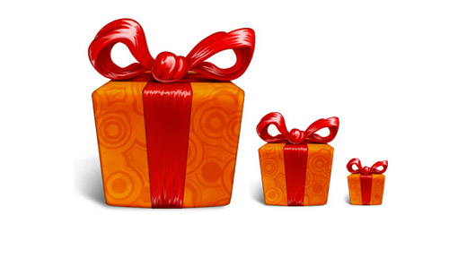11 Gift Box PSD Images