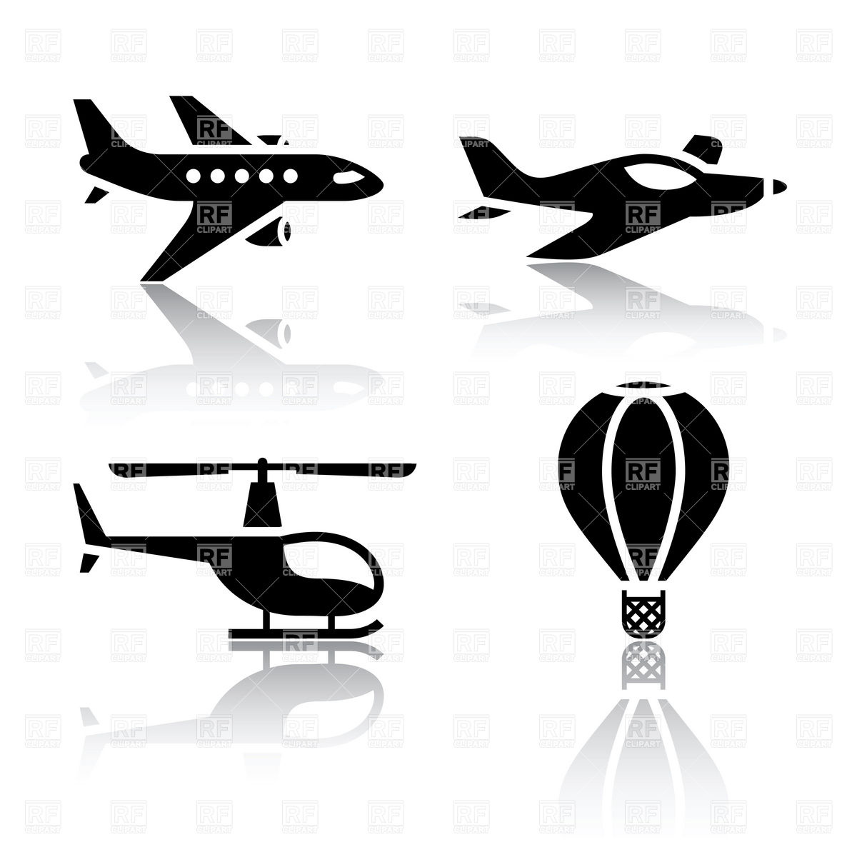 12 Flight Medical Icon Vector Images