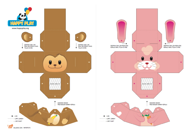 17 animal paper bag templates images paper bag animal puppets animal paper finger puppet templates maxwellsz