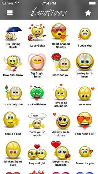 5 New Animated Emoticons Images