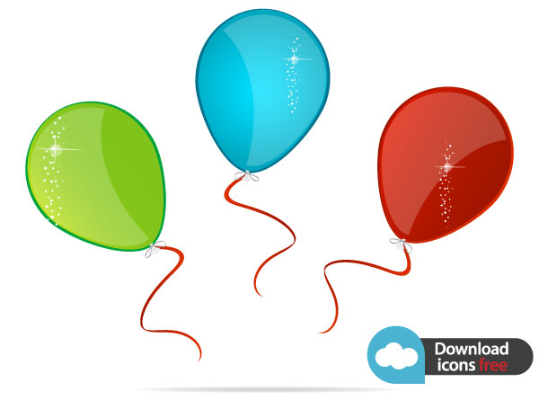 Balloon Free Vector Icon