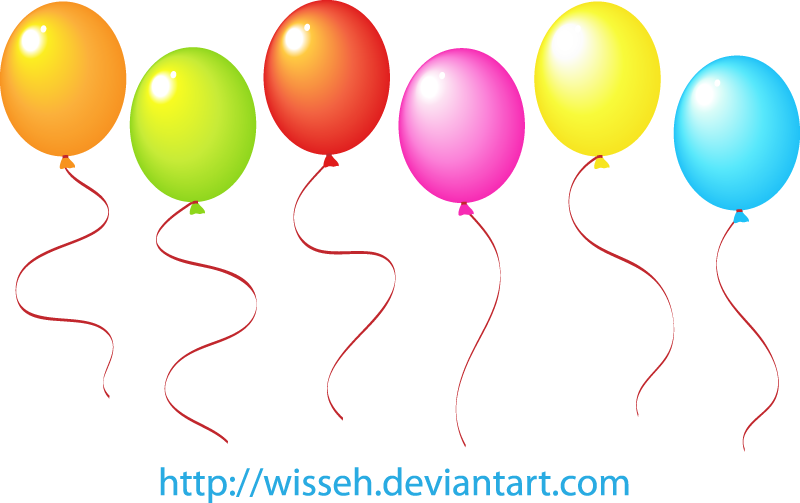Balloons Vector Free Download