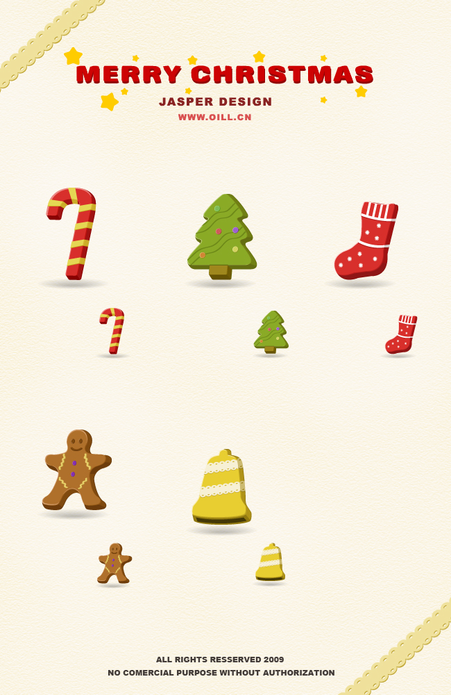 Beautiful Christmas Icons
