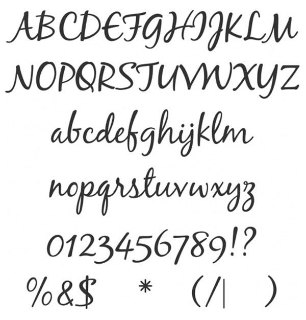 Beautiful Script Fonts