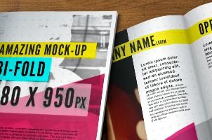 Bi Fold Brochure Templates Free
