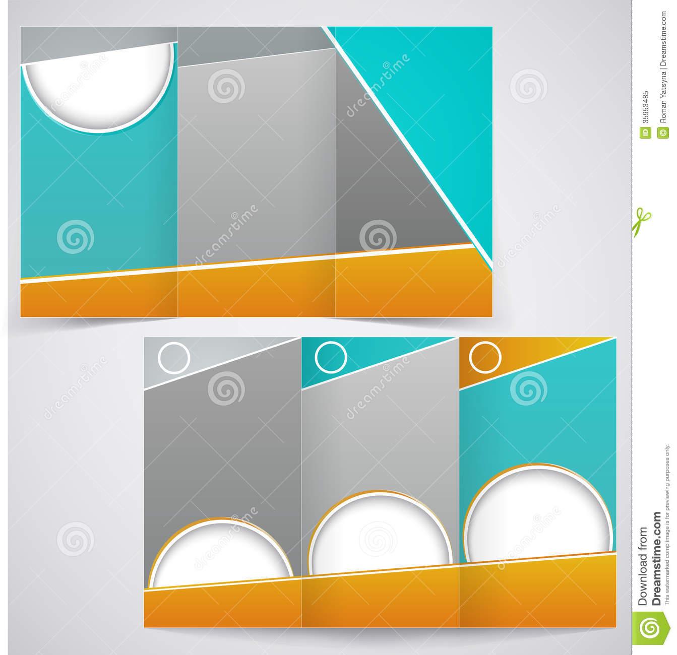 12 Free Vector Brochure Templates Images Business Brochure