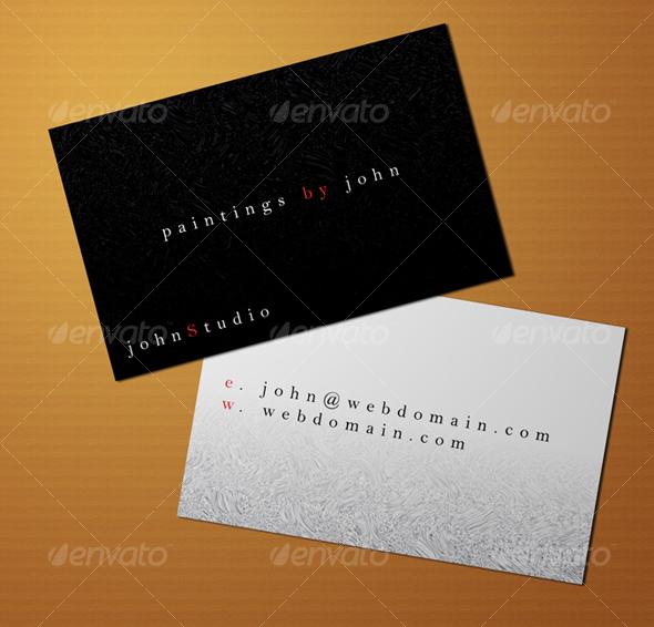 Business Card PSD Template