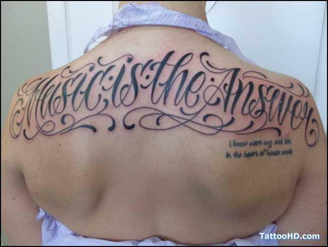 Calligraphy Tattoo Fonts Generator