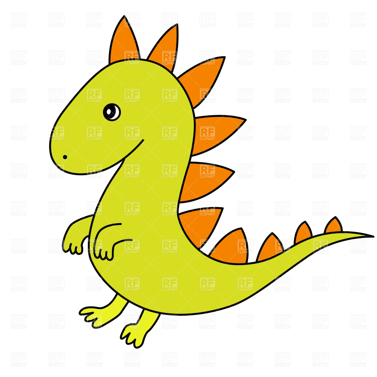 Cartoon Dragon Clip Art