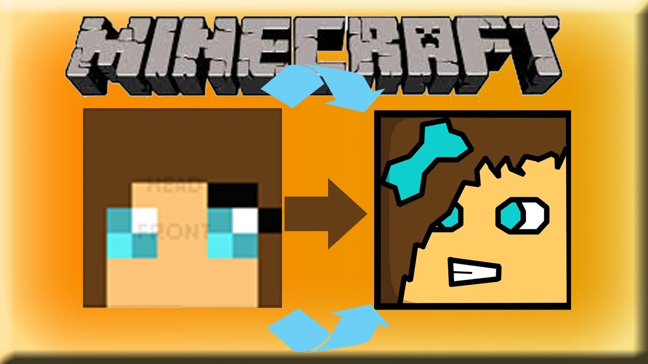 Cartoon Minecraft Skin Template