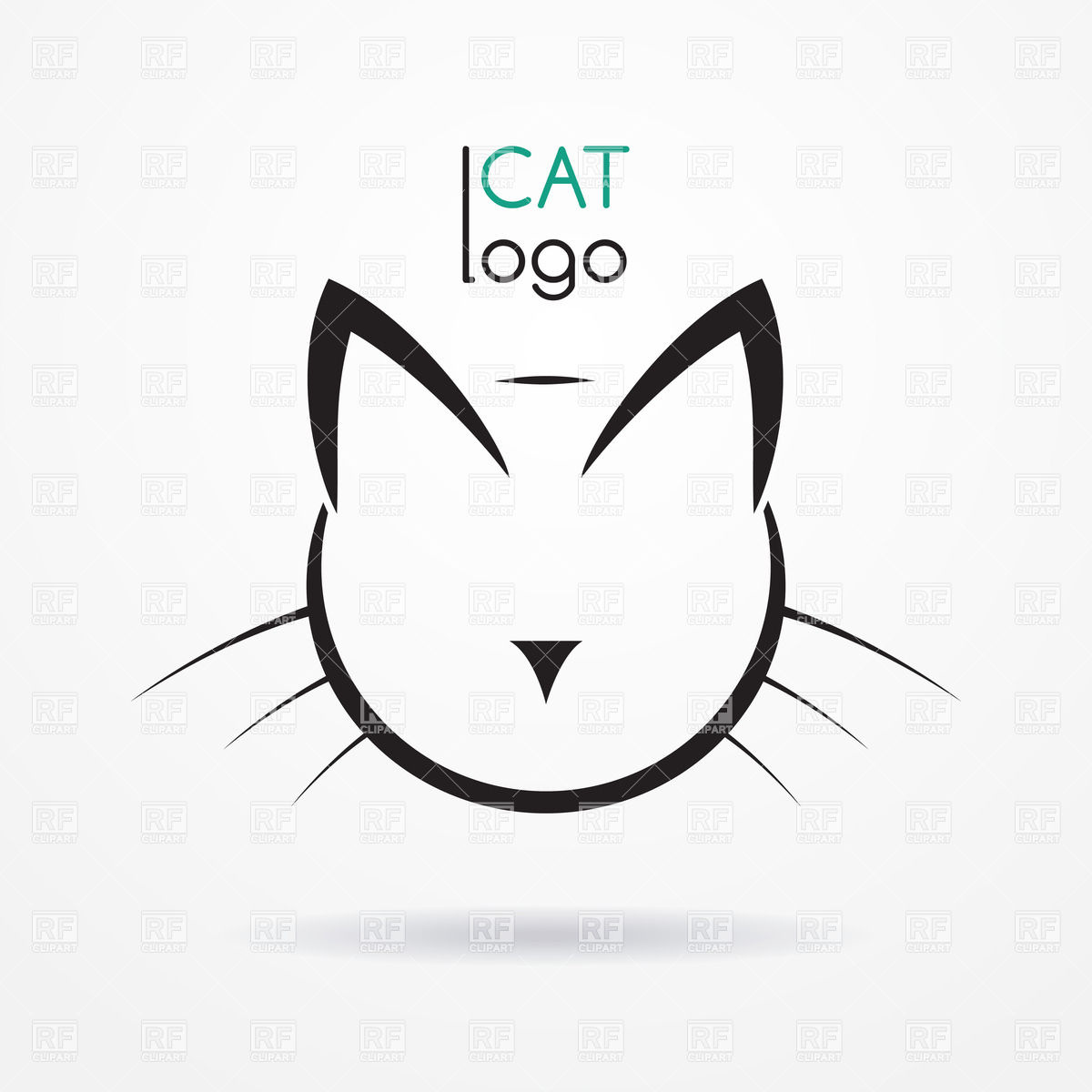 20 Cat Head Vector Images