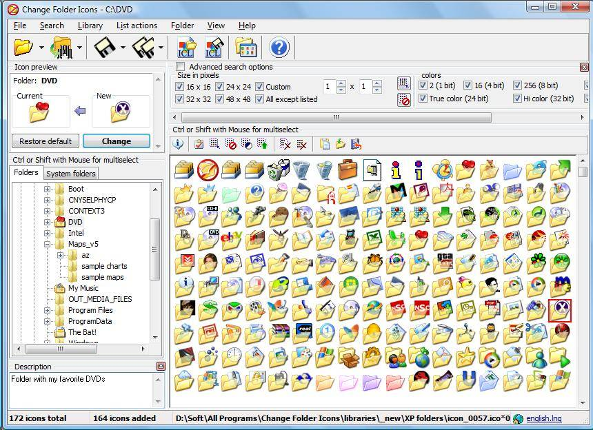 Change Windows Folder Icons