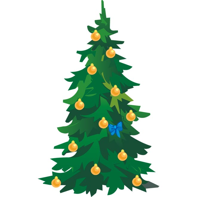 christmas clipart vector - photo #24