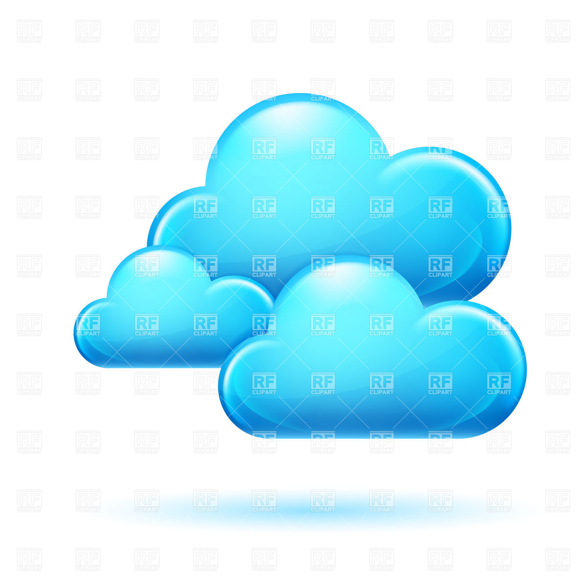 Cloud Vector Clip Art Free