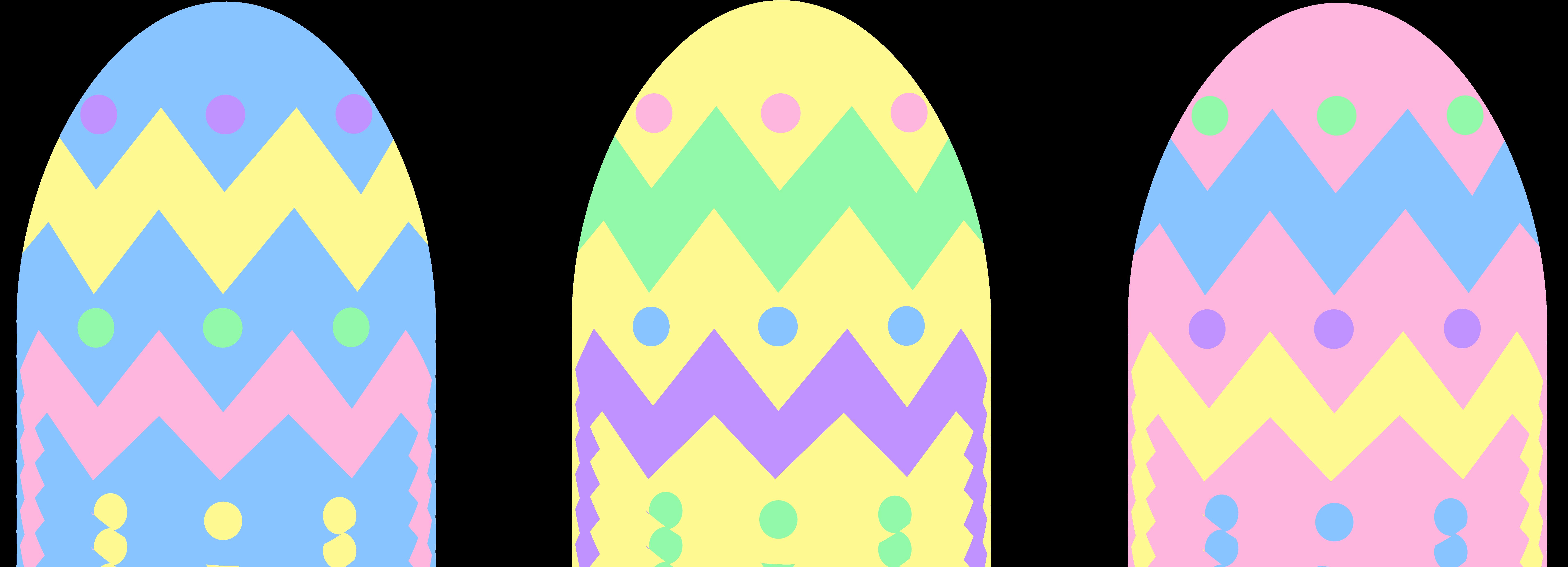 Color Easter Egg Clip Art