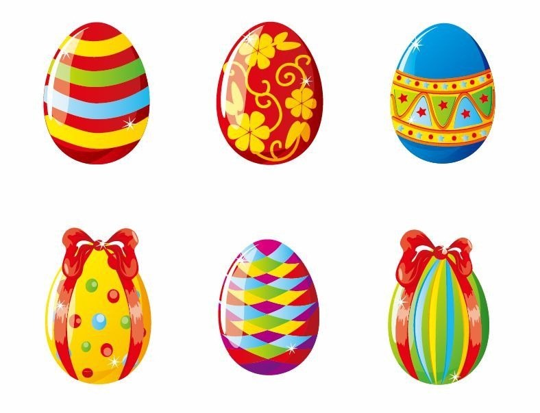 Colorful Easter Egg Clip Art