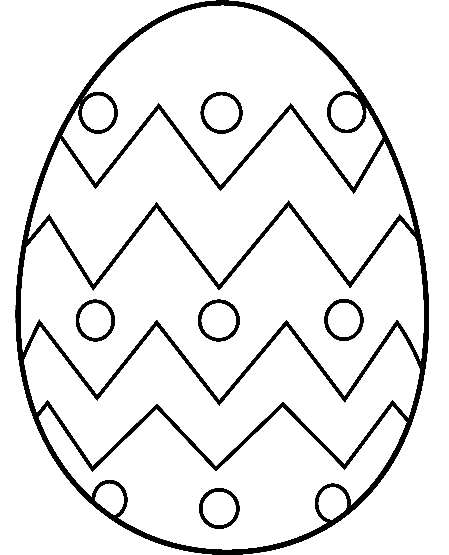 Coloring Easter Egg Clip Art