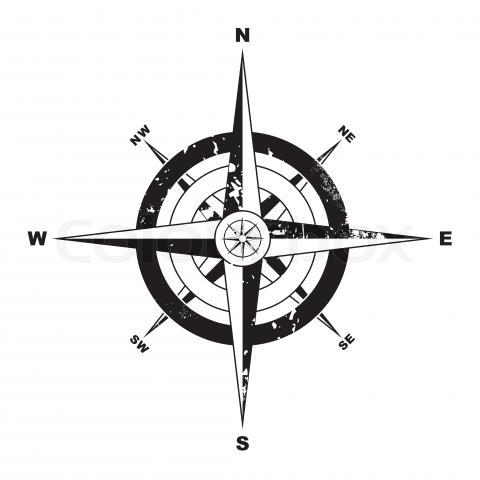 Compass North Symbol