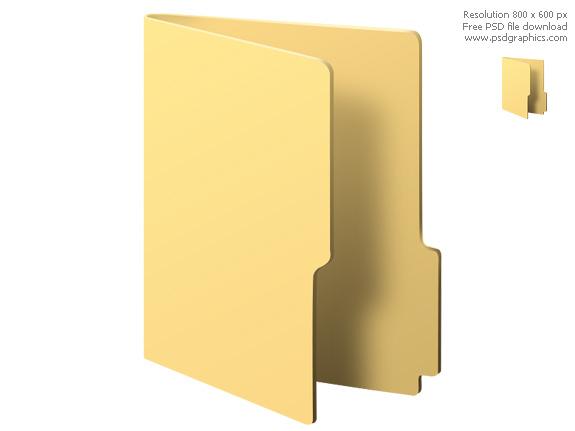 Computer File Folder Icon