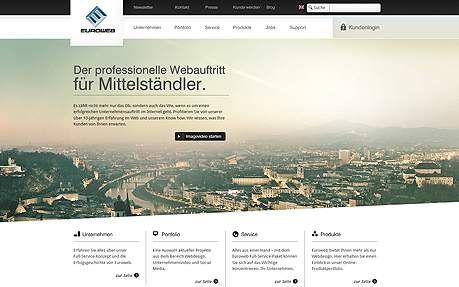Corporate Website Design Inspiration