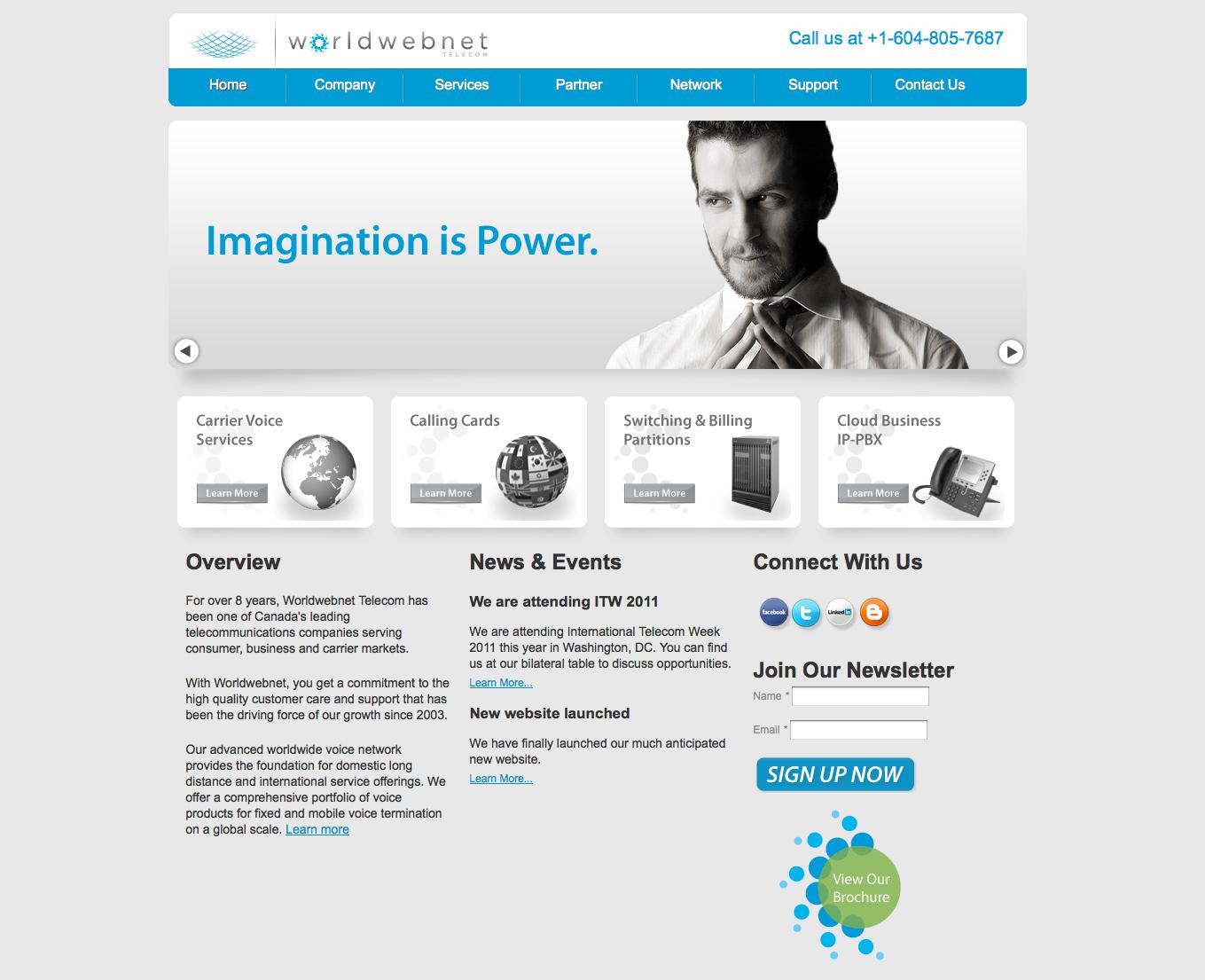 Corporate Website Design