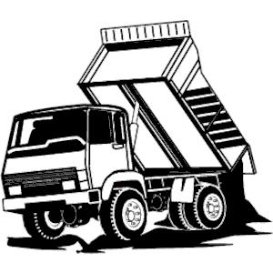 Dump Truck Clip Art