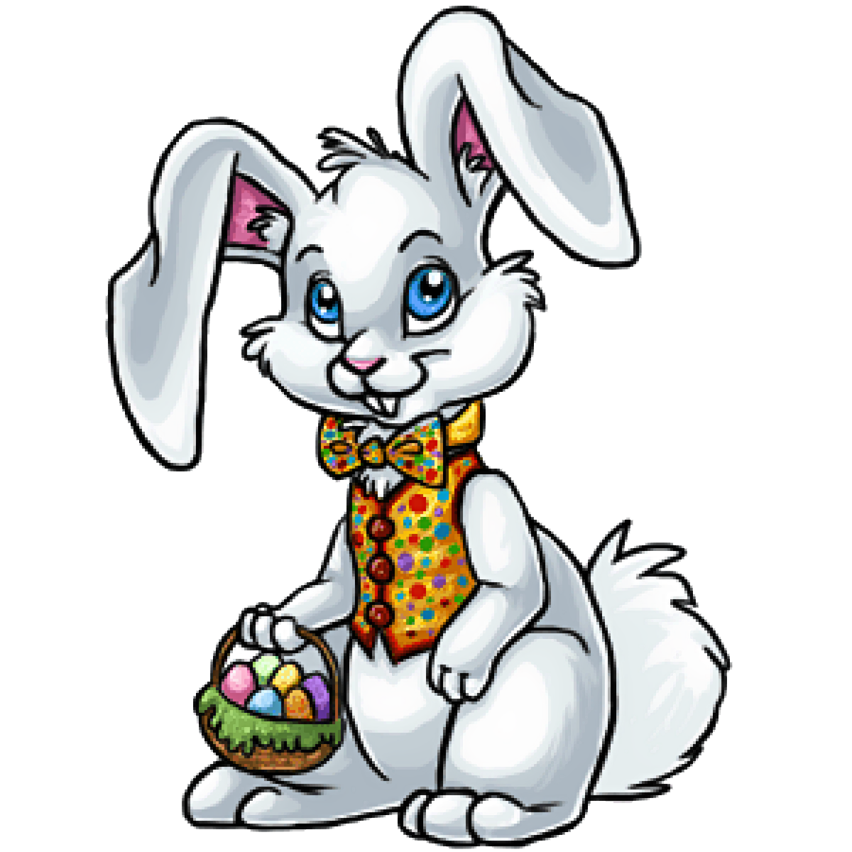 Easter Bunny Rabbit Clip Art