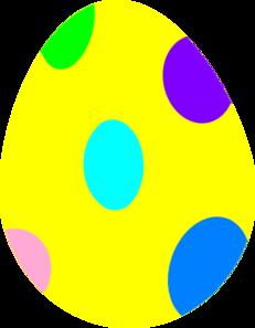 Easter Egg Clip Art Free
