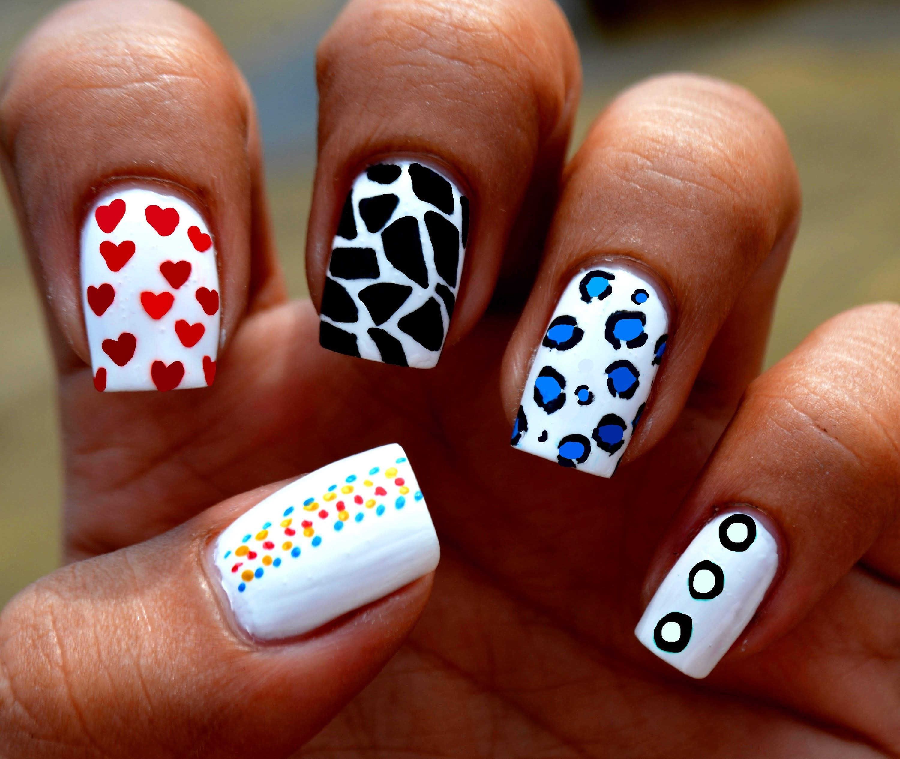 10 Toothpick Nail Art Designs Images