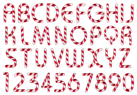 13 Candy Land Letter Font Images