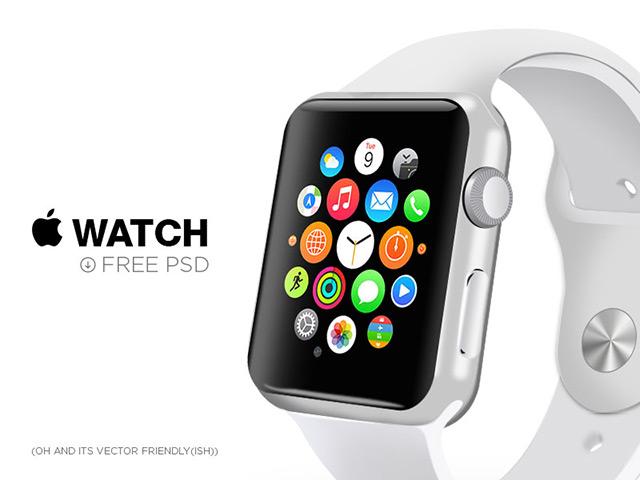 Free Psd Apple Watch