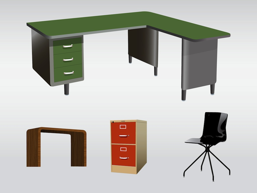 19 Vector Desk And Chairs Images