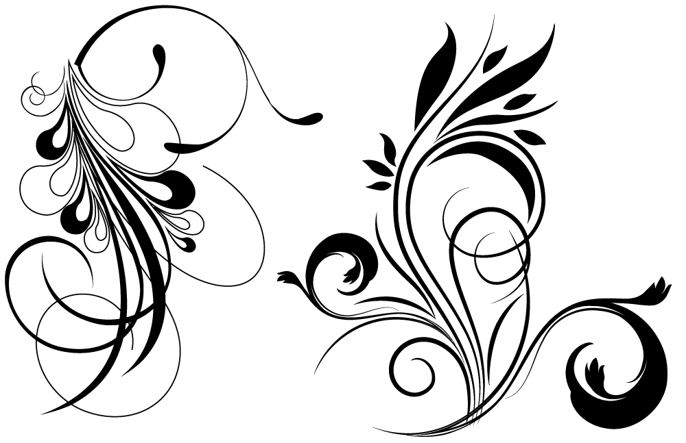 17 Flourish Free Vector Flowers Images