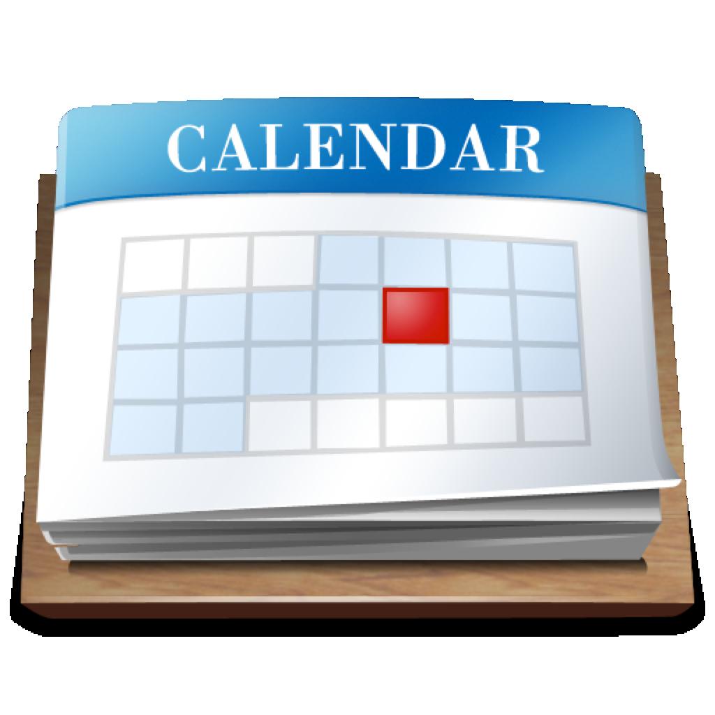 Calendar Icon Blue : Purple calendar icon png images black