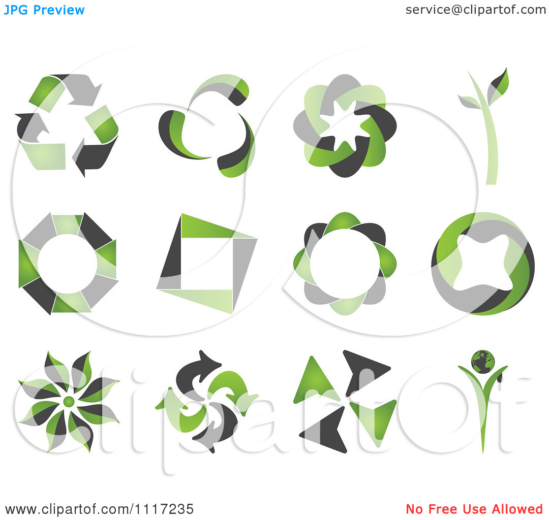 Green Energy Icons Free